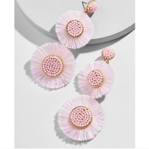 Pink baublebar earrings